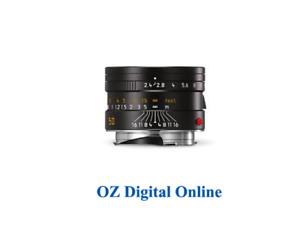 New Leica Summarit-M 50mm/f2.4 lens Black (11680) Lens 1 Year Au Warranty