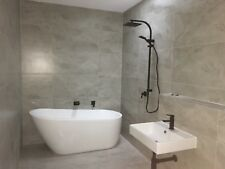 Silver Travertine Porcelain Tiles 900x450  First Quality