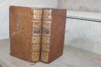 Les Pseaumes de David, traduits sur texte Hebreu, traduction sacy en 2 vol ,1785