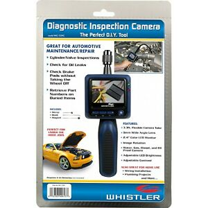 "NEW Whistler Diagnostic Inspection Camera 2.4"" Color LCD Automotive Borescope"