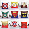 Decorative Throw Pillow Case America Marvel Superhero Comic Cushion Cover 18""