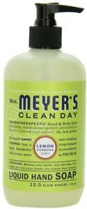 Clean Day Liquid Hand Soap by Mrs. Meyer's, 12.5 oz Lemon Verbena