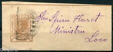"C.376 - Romania stamp, 1894-1896, Mi. P 4, Destinatary "" Spiru Haret """