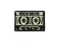 TAPE CASSETTE Iron on / Sew on Patch Embroidered Badge Music Band PT571