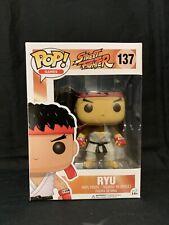 Funko POP! Games~ RYU POP! VINYL FIGURE #137 ~Street Fighter II