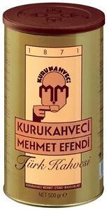 TURKISH COFFEE GROUND BEST QUALITY ROASTED BEANS 500g IBRIK CEZVE KAHVE GRINDED