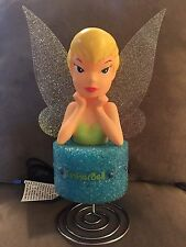 NIB Beautiful Kids Disney Tinker Bell Lamp/Unique/Perfect For Bedroom!