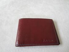 Paul Smith Men Red Saffiono Travel wallet