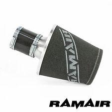 Ramair SILVER MEDIUM Alluminio Induzione Filtro Aria con 70 mm ID Accoppiamento