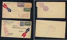 Honduras   2  airmail covers, one local use