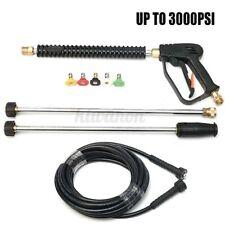 for Generac Briggs Craftsman 3000PSI Pressure Car Washer Gun Hose Wand Tips