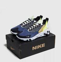 Nike React Sertu Mens Blue White Black Shoe Trainer Sneaker UK 6-12