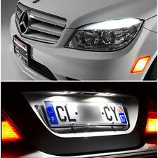 6 Lampadine a LED Bianco Luci posizione + illuminazione targa Mercedes C W204