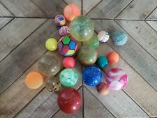 Vintage Bouncy Ball Lot Of 21