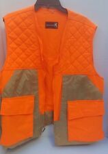 Browning Mens Hunting Vest Pockets Expands Bullet Holder Field Nylon Tan Orange