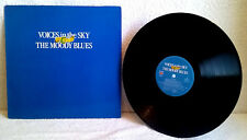 MOODY BLUES Voices in the Sky: The Best of-Vinyl-Nights in white satin-EX/EX