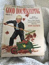October 1952 Good Housekeeping Magazine