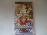 """NEW Sony PSP """"One Piece ROMANCE DAWN Bouken No Yoake"""" 2012 BANDAI NTSC-J Japan"""
