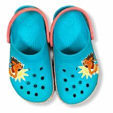 Disney Moana Girls Light Up Crocs Size 12