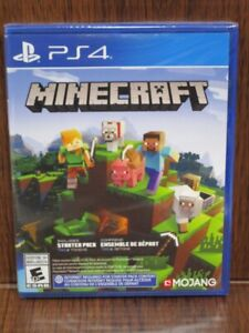 Video Game PS4 Minecraft + Starter Pack 700 Tokens NEW SEALED