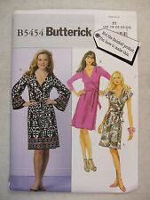 Wrap Dress Size 16 to 24 Sewing Pattern B5454 See Full Listing Info