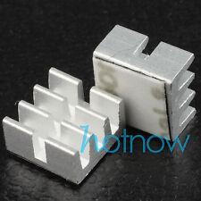 2pcs Heatsinks for USB Bitcoin ASIC Miner IC Chip 6.5x6.5x3.5mm