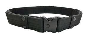 Black Adjustable Survival Tactical EMT Security Police Duty Utility Belt