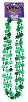 Hippie Pot Leaf Marijuana Necklace 3/Pack Mardi Gras St Patricks Day Party Beads