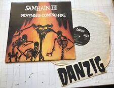 SAMHAIN III November Coming Fire PLAN 9 LP 1ST '86 pl9-07 Glenn Danzig Misfits!!