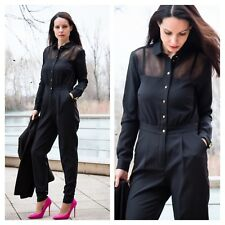 Marcelo Von Berlin at Kaleidoscope Size 10 Black Occasion JUMPSUIT Party £79
