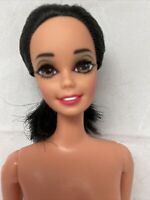 Barbie Great Eras Egyptian Queen Cleopatra Black Hair Rooted Eyelashes Doll Only