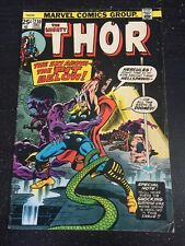 Mighty Thor#230 Awesome Condition 5.5(1974) Hercules App, Buckler Art!!