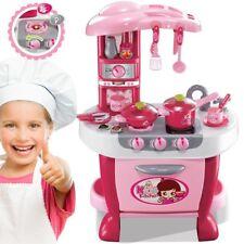 CUCINA GIOCATTOLO BIMBA SUPERMERCATO GRANDE per bambini chef con 40 accessori