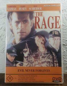 The Rage DVD Gary Busey 1997 Thriller MOVIE - RARE OOP - R18+ - REGION 4 AUST