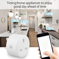 Mini Smart WiFi Plug Outlet Switch work Echo Alexa Google Home Remote Control Uk