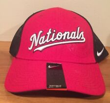 dab874e0edc6c ... wholesale washington nationals nike mlb mesh logo flex cap hat unisex  baseball l xl dc b1653