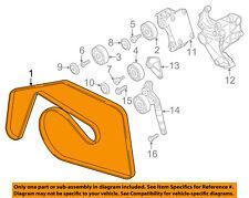 VW VOLKSWAGEN OEM 11-12 Touareg-Serpentine Drive Fan Belt 059903137R