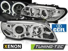 Faros para bmw e46 04.03-06 coupe convertible Angel eyes CCFL Xenon cromo