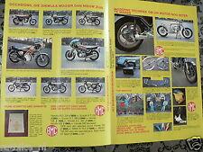 A139-DAMEN LEATHERS HINDA,SUZUKI EN HMC EN BMC ADVERTISEMENT 1976 REGINA EXTRA