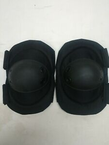 Tactical Elbow Pads (Black) Law Enforcement Military Police Security
