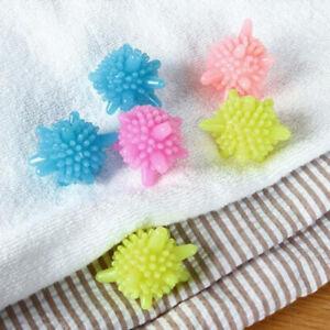 10pcs laundry ball decontamination anti-winding washing ball protecting b*wf