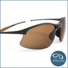 NEW Serengeti Maestrale Polarised Sanded Dark Brown Drivers (8450) Sunglasses