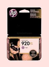 HP 920XL Cyan Ink Cartridge CD972AC 6000 6500 7000 7500A New Sealed in box