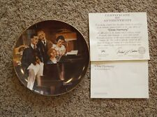 """Norman Rockwell's Light Campaign """"Close Harmony"""" Decorative Plate"""