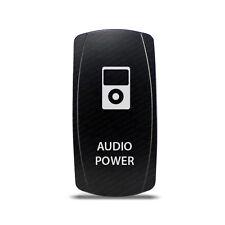 CH4x4 Rocker Switch Audio Power Symbol 3 - White LED