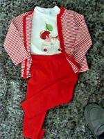 Girls Mayoral 3 Piece Outfit Set, Zip Up Cardigan,Top & Leggings Age 2 BNWT