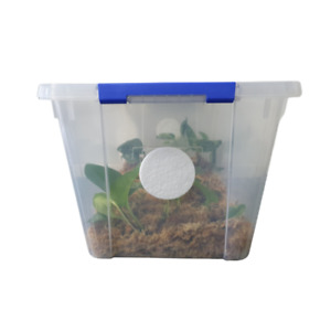 Set of 4x 7.5cm 0.22 micron synthetic monotub filters for Mushroom culture