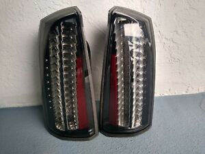 Cadillac STS Rear Tail turn Lights Taillight Euro Clear Set Left Right * TESTED