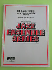 Big Band Swing!, Medley, arr. Bob Lowden, Big Band Arrangement
