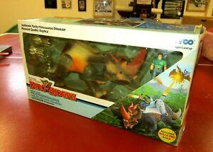 Tyco Dino Riders ultra rare Pachyrhinosaurus boxed